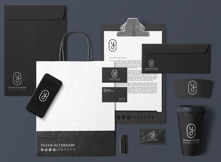 100  high quality identity branding stationery mockups for