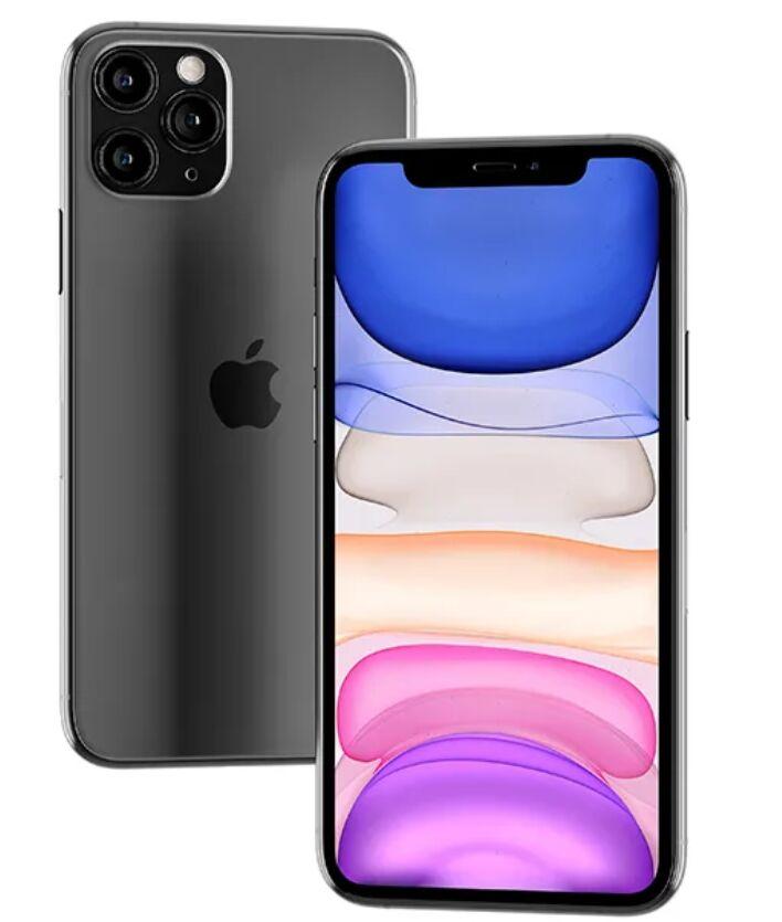 Floating iPhone 11 Pro Max Mockup