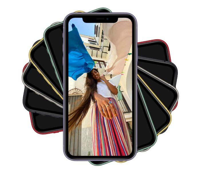 iPhone 11 Mockups (6 Colors)
